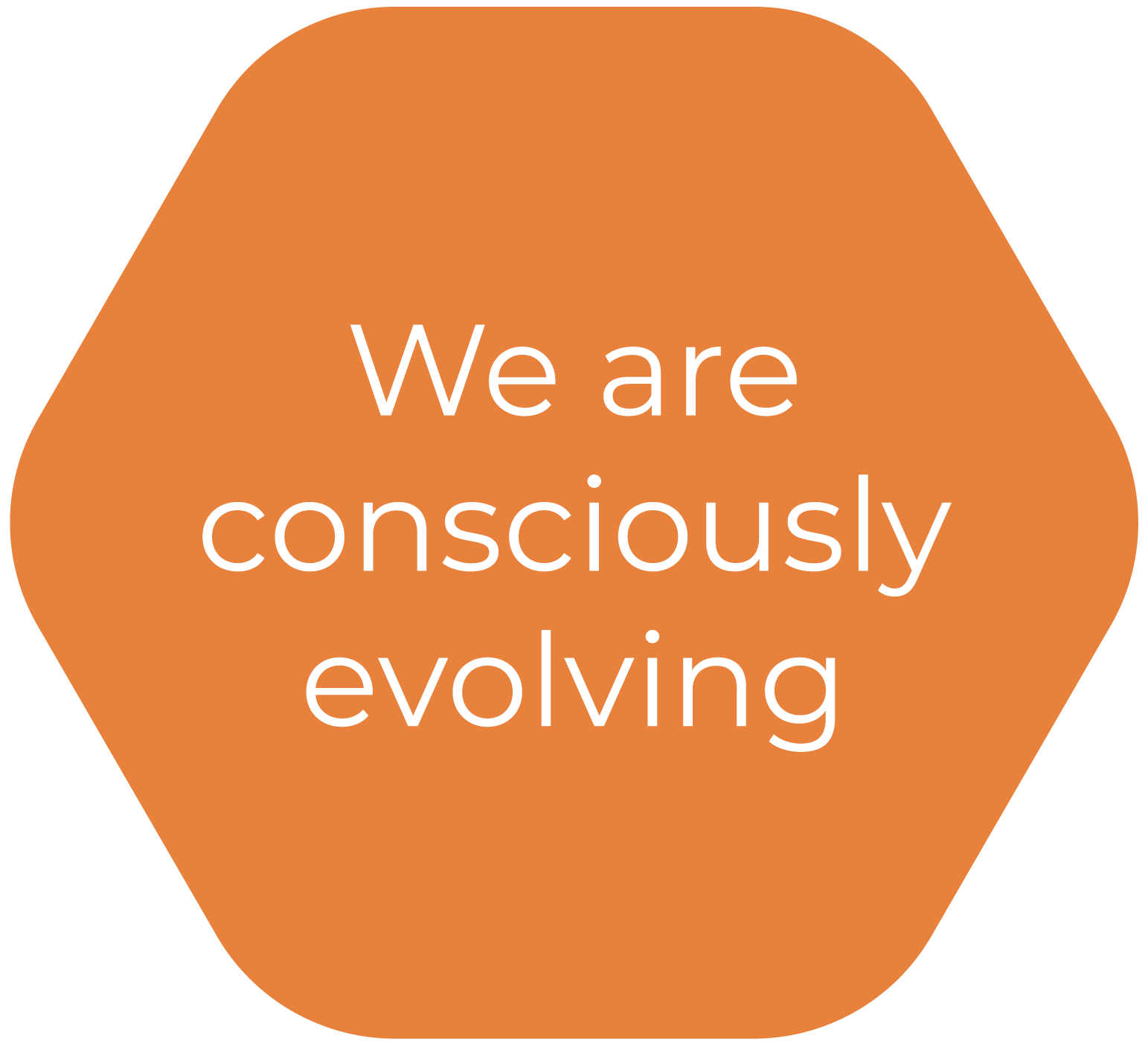 We are consciously evolving