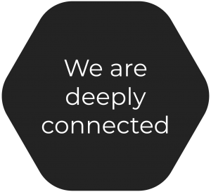 We are deeply connected